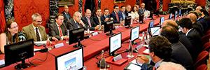 Vitelsa suministra el equipamiento audiovisual para el Pleno Anual de la CNAT