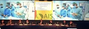 AIS Comunicaciones despliega su tecnología de transporte HD vía satélite para transmisiones quirúrgicas en TEAM 2014