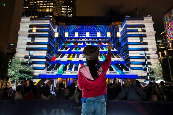 Danny Rose Play Me at Vivid Sydney 2014