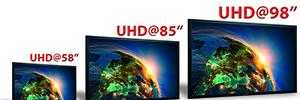 """Eyevis completa su línea de soluciones para digital signage en 4K con pantallas de hasta 98"""""""