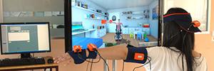 Indra incorpora herramientas de colaboración al sistema de rehabilitación virtual Toyra