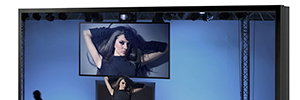 Panasonic reaffirms its position in 4K and large format with a display of 98