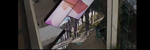 Un hotel de Miami instala el videowall arquitectónico más alto realizado con Planar Mosaic