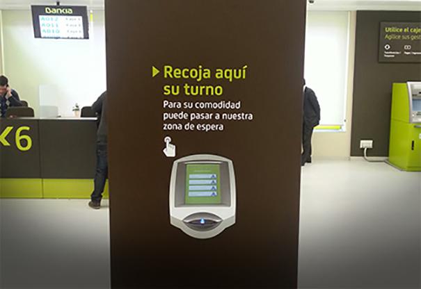 Qmatic Solo en Bankia