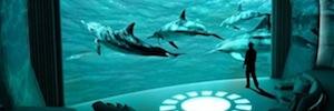 The Nemo Room: experiencia audiovisual inmersiva en yates de lujo con pantalla IMAX