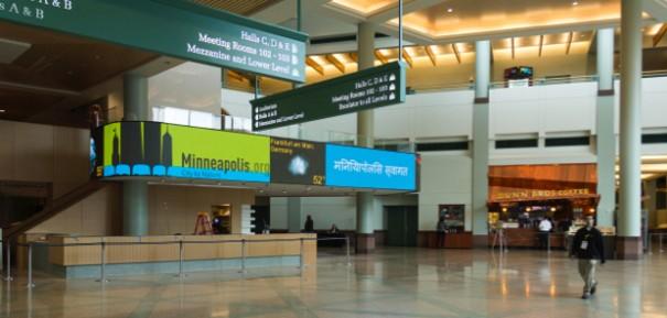 Nanolumens Centro de Convenciones de Minneapolis