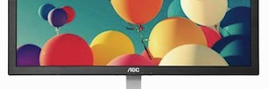 AOC integrates in their monitors them technologies Anti-Blue Light and Flicker Free toward of the health eye