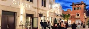 Adagio Distribución diseña con equipos Martin Audio el sistema de sonido de Gucci Store en La Roca Village Barcelona