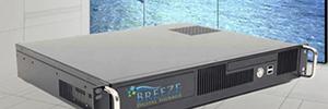Keywest desarrolla un reproductor de digital signage de seis canales con función para controlar videowalls