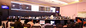 La India controla el viaje a Marte desde las pantallas de Dnp Denmark