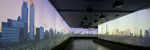 Digital Projection projectors offer an experience immersive Museum Huai'an