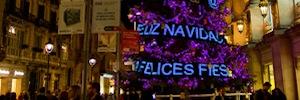 La tecnología de Leddream protagoniza el árbol navideño interactivo de Tous en Barcelona