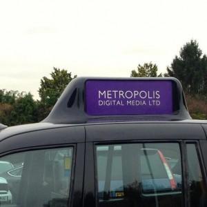 MDM y Broadsing taxis Londres