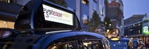 Metrópolis Digital Media selecciona a BroadSign para desplegar quinientas pantallas en los taxis de Londres