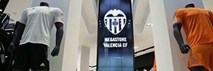 TMTFactory e Instronic proporcionan la infraestructura audiovisual para la Megastore Adidas del Valencia CF