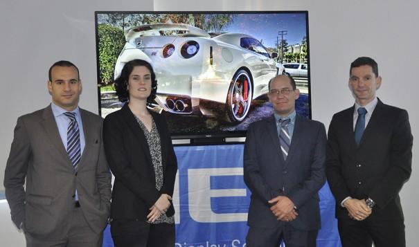 NEC Display España Equipo