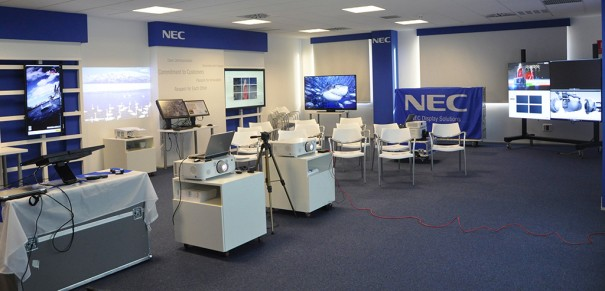 NEC Display Sala Demo Madrid