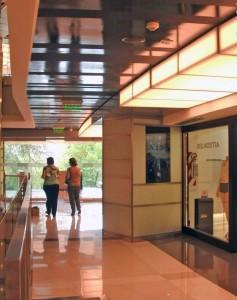 Navori en el cc Recoleta Mall de Buenos Aires