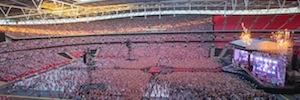 One Direction confía el sistema de audio de su gira 'Where we are' en la Serie J de d&b