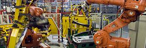 PSA Peugeot Citroën mejora la planificación robótica en la producción de sus coches con Dassault Delmia