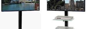 """Eljo: nueva gama de soportes para pantallas planas de hasta 55"""" de Unicol"""