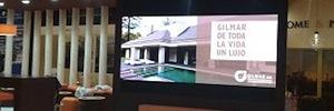 Caverin suministra un display Led con pixel pitch de 2,5 mm, el más pequeño hasta ahora en España