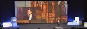 La Convención del Partido Popular se acompaña de una producción audiovisual y proyecciones de videomapping