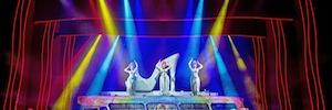 Los sistemas de Robe, Vari-Lite y Robert Juliat iluminan el musical 'Priscilla, reina del desierto'