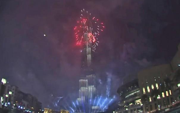Fin Ano 2014 Burj Khalifa Dubai