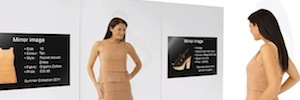 Technology of interactive visualization as a 'personal shopper' in the retail sector