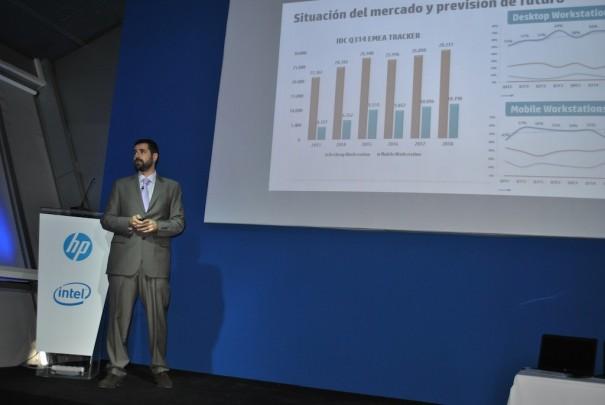 HP Z workstation Marco A Viejo
