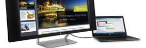 HP presents its proposal to curved monitors with resolution 4K and 5K in CES 2015