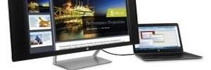HP presenta su propuesta de monitores curvos con resolución 4K y 5K en CES 2015