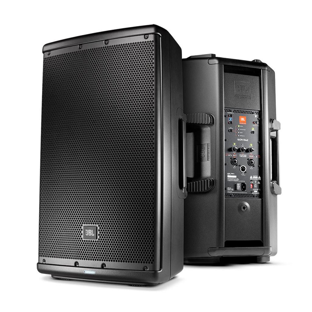 jbl integra dos nuevos modelos a su l nea de sonido pa port til el eon610 y eon612. Black Bedroom Furniture Sets. Home Design Ideas