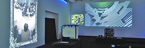 Epson shows to the channel its projection technology for the rental and installation market
