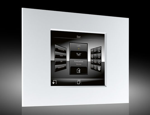 jung smart panel 5 1 knx touch screen for control of knx systems digital av magazine. Black Bedroom Furniture Sets. Home Design Ideas