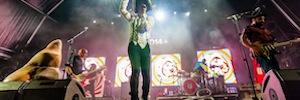 Love of Lesbian realiza un espectáculo visual con las pantallas de Leddream en su gira