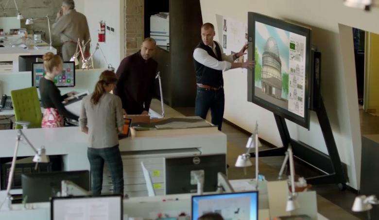 Collaborative Classroom Hub : Microsoft surface hub screen collaboration k in