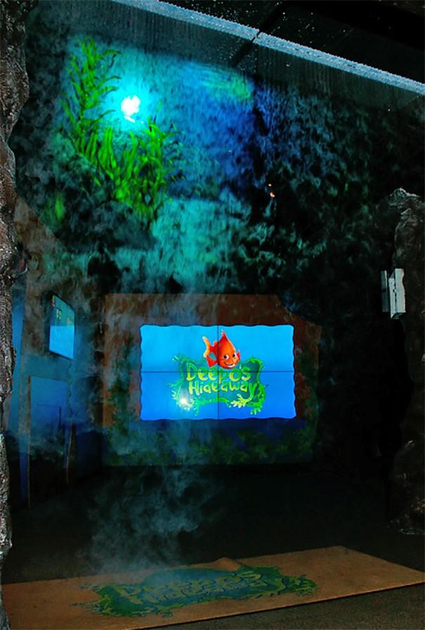 Proyector Sony en Georgia Aquarium
