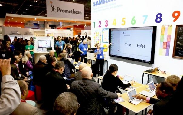 Samsung educacion BETT 2015