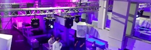 Las cajas acústicas Turbosound protagonizan el sistema de sonido de la discoteca SuperClub 95