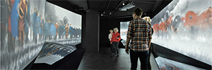 Panasonic provides audiovisual equipment to the new building of the Museum Moesgard