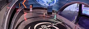 7thSense se integra en las inmersivas atracciones del parque temático Wuhan Movie