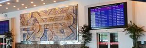 El aeropuerto de Kaohsiung renueva su infraestructura de digital signage con AG Neovo
