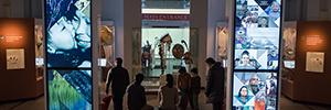 El Museo Penn utiliza las técnicas audiovisuales para mostrar la historia y cultura de las tribus americanas
