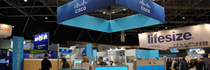 Cisco has focused its assistance to ISE 2015 in the collaborative environment and Conference AV