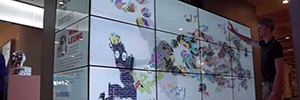 Kinect Graffiti: interactive experience to attract buyers at the Samsung store in Melbourne