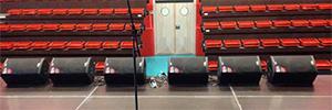 El pabellón deportivo de Murcia dispone de una acústica que se adapta a cada evento