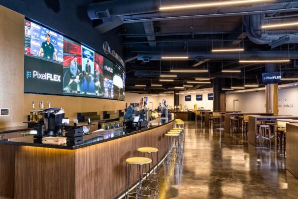 PixelFlex Lexus Lounge Bridgestone Arena