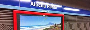 Telson e Impursa gestionarán la publicidad outdoor de Adif y Renfe